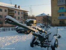 Пушки и танк